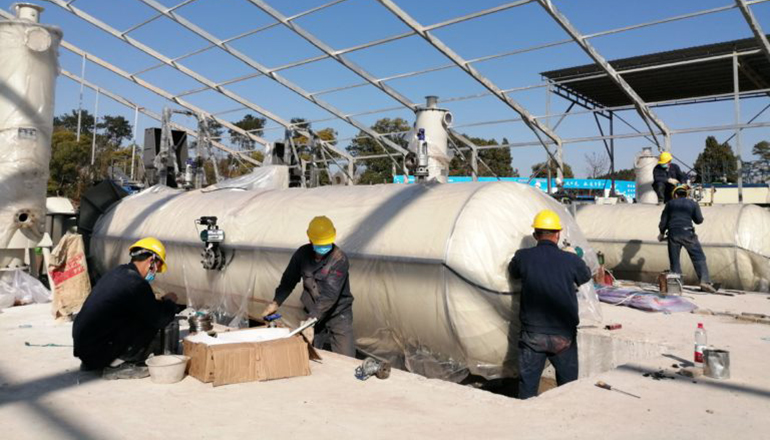 Gient Builds Medical Waste Treatment Plant Against Coronavirus