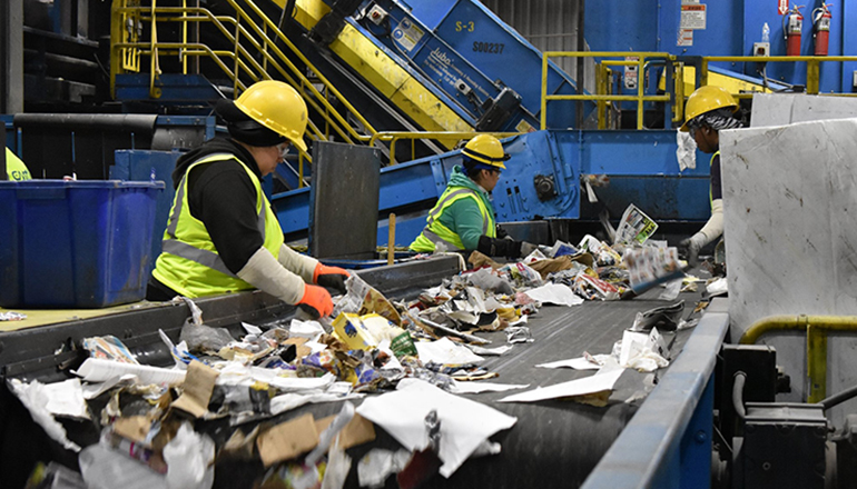 MES' Filiaggi Expands Recycling Via Innovation, Partnerships and Education