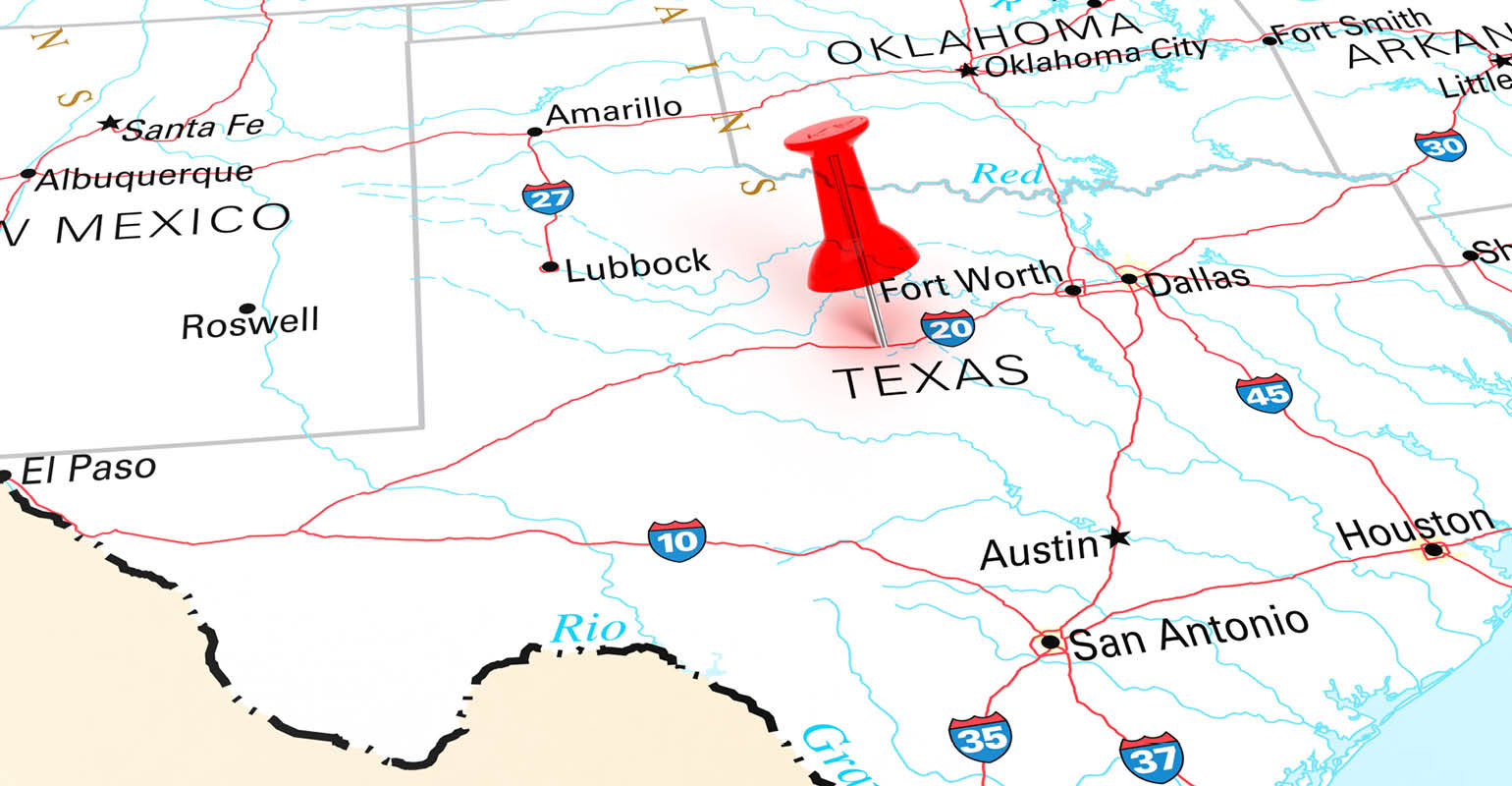 Where Is Fort Worth Texas On A Map Examining Fort Worth, Texas' 20 Year Solid Waste Management Plan