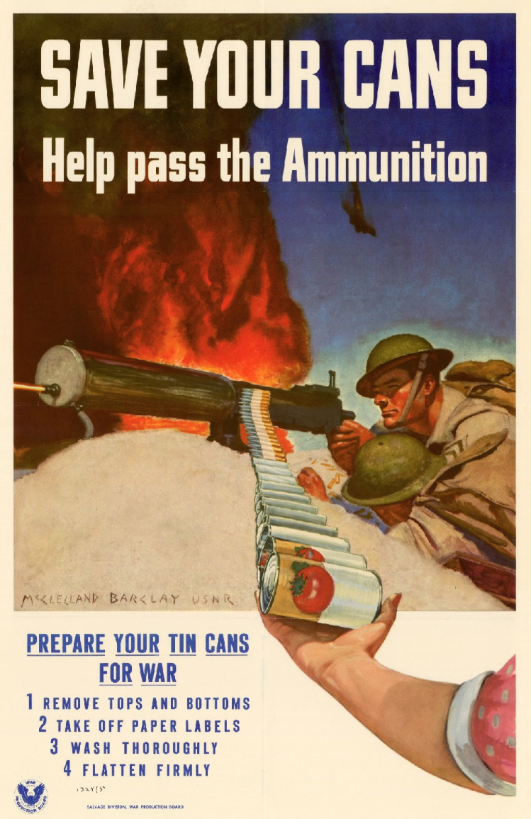 15 World War Ii Posters America Recycles For War Waste360