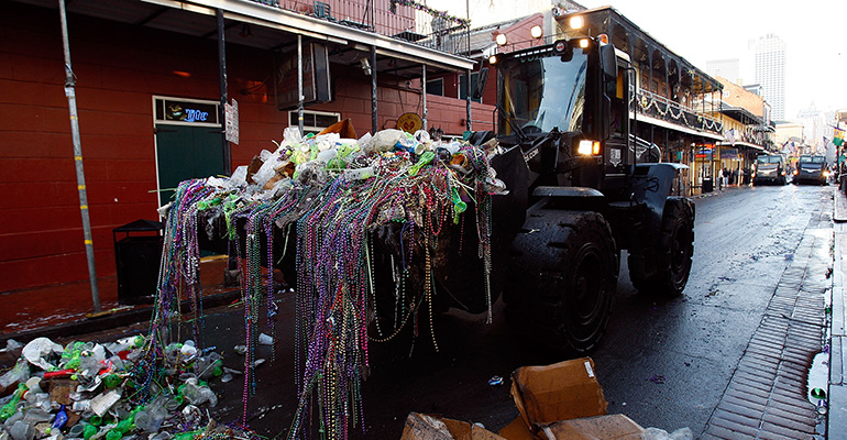 How New Orleans Manages Mardi Gras Waste Cleanup Waste360