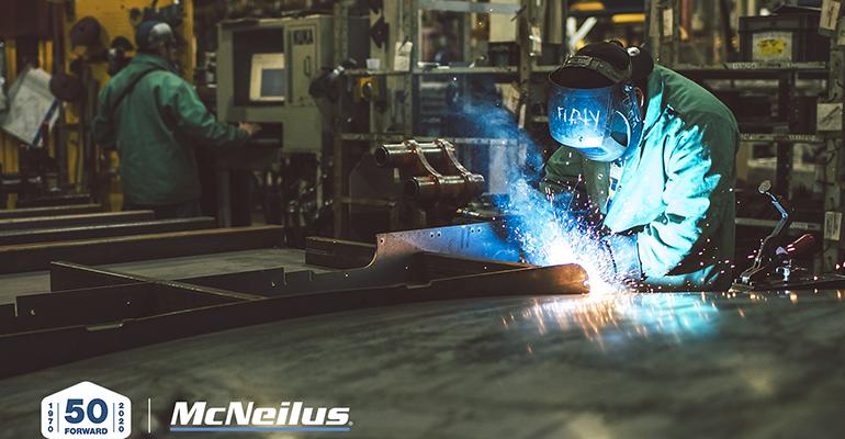 McNeilus Celebrates 50 Years Manufacturing Refuse Trucks