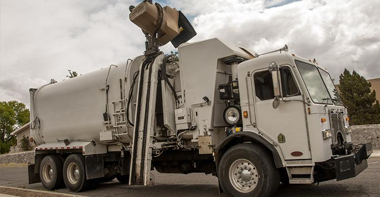 Automated Trash Truck
