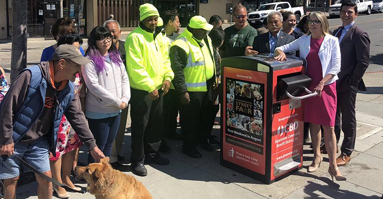 San Francisco Receives First of 80 Smart Trash Cans