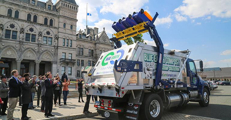 Connecticut Unveils Its First Commercial Food Scrap