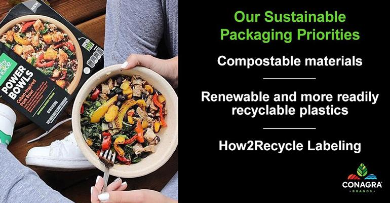 Conagra Brands Announces Sustainable Packaging Goal