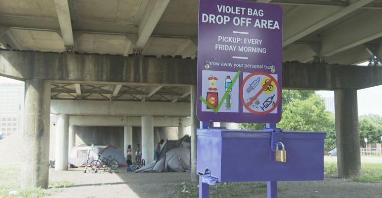 Austin Homeless Trash Program