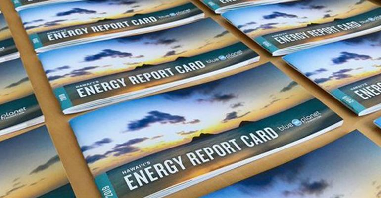 Hawaii Gets C on Clean Energy Report Card