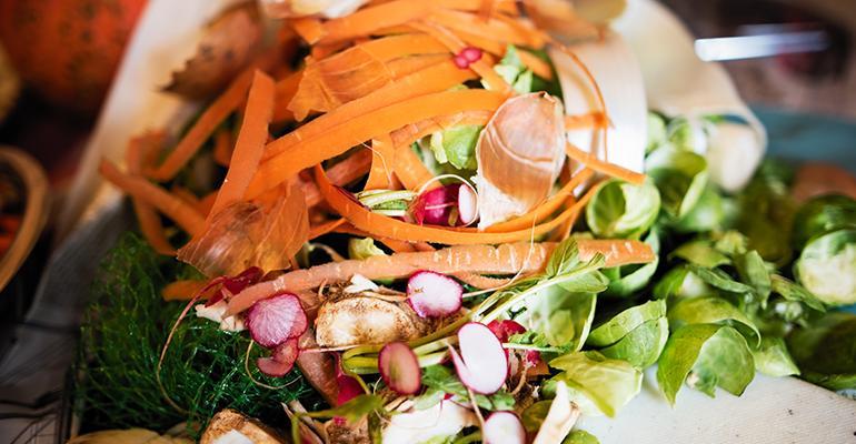 Food Waste Pile