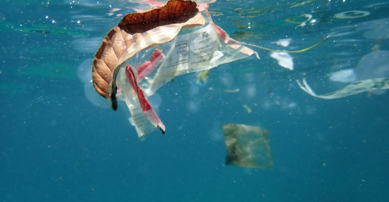 ocean plastic waste