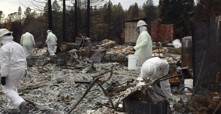California Begins Historic Wildfire Cleanup Efforts Waste360