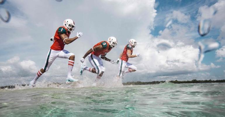 Miami Hurricanes to Wear Uniforms Made from Marine Plastic  154459c46