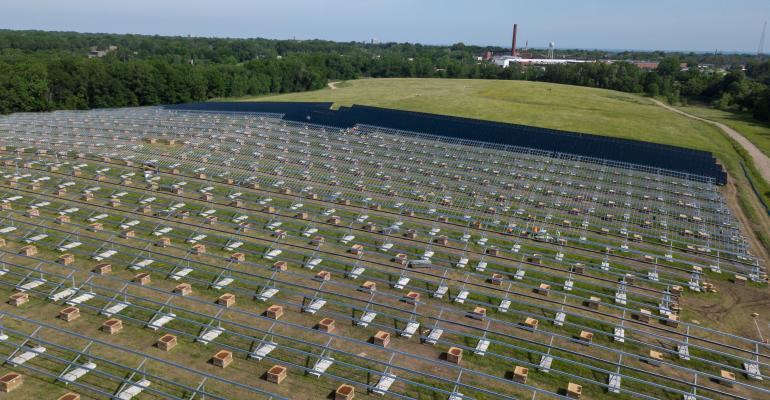ohio solar landfill