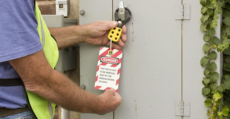 10 Ways to Comply with OSHA's Lockout/Tagout Standard