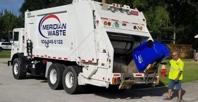 Meridian Waste Cleans Up Streets of Callahan, Fla.