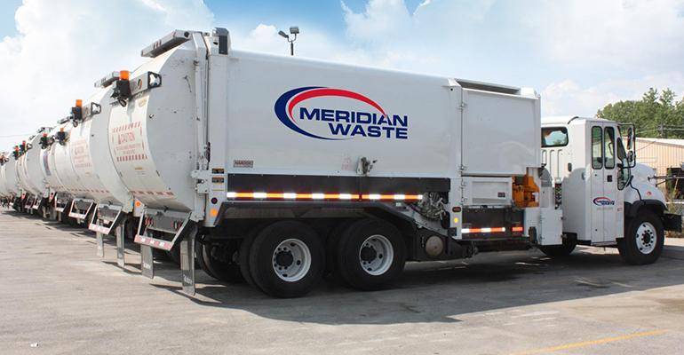 Meridian Waste Acquires Two Augusta, Ga., Haulers