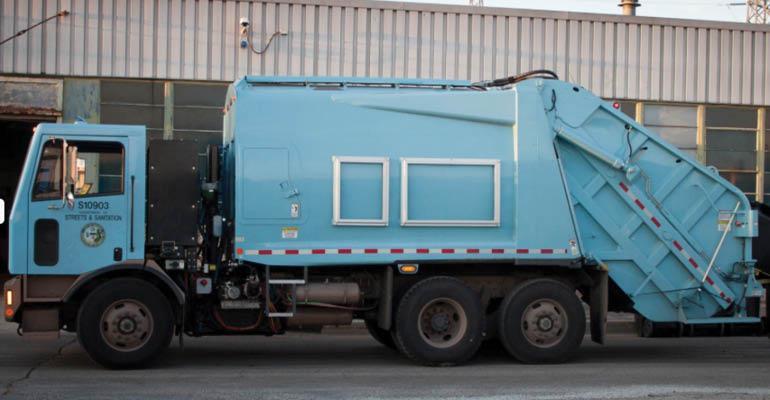Motiv Electric Refuse Truck