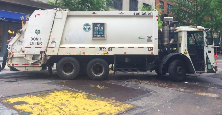 Displaced Dsny Trucks Relocate To East Village Waste360
