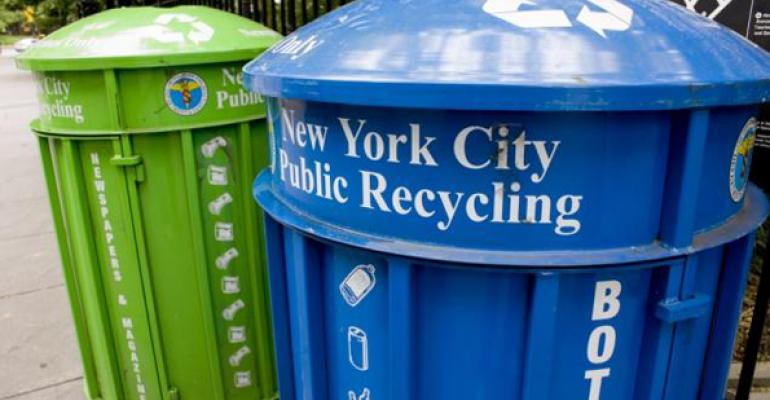 NYC-public-recycling-cans
