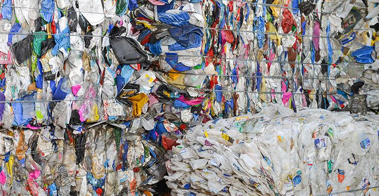 Recycling Stockpile