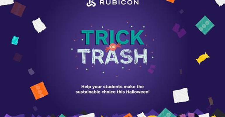 Rubicon Launches Halloween Campaign to Divert Candy Wrappers from Landfills