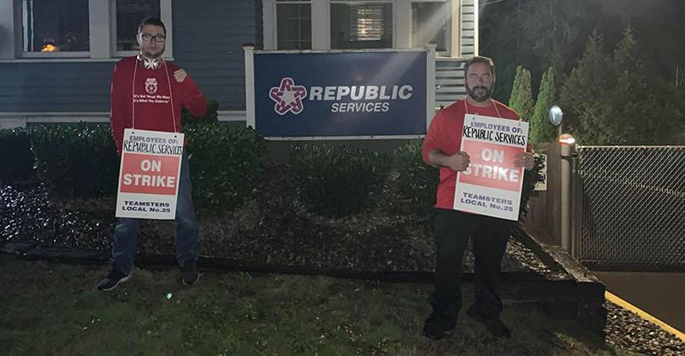 Teamsters on Strike at Republic Extend Picket Lines to Seattle