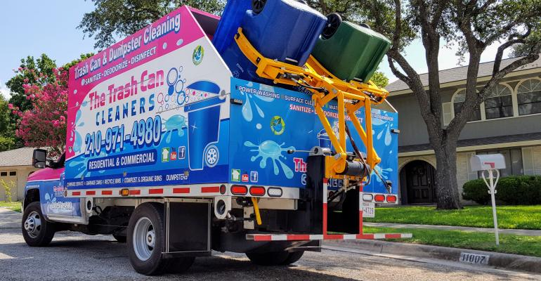 A Mobile Trash Can Cleaning Service Has Hit San Antonio S