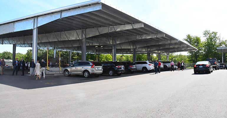 Why USA Hauling & Recycling Went to Solar at its CNG Fueling Station