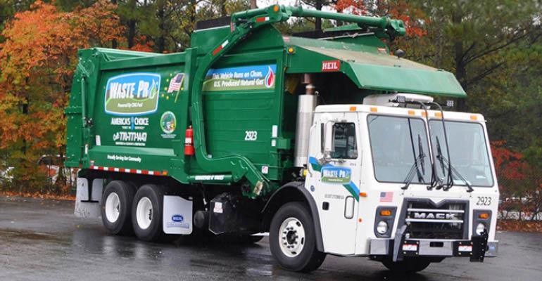 WastePro truck