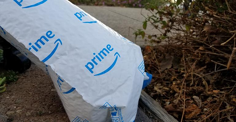 U.K. Criticizes Amazon for Non-recyclable Plastic Packaging