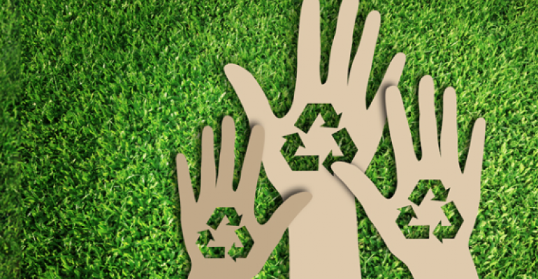 america recycles day.