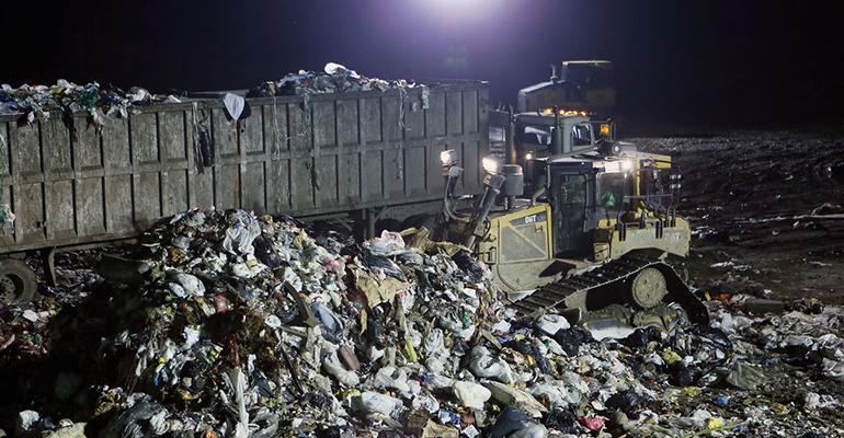 atlantic county landfill night
