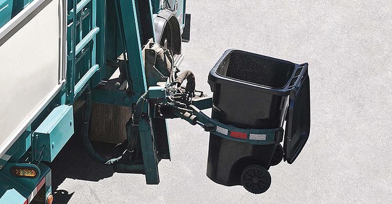 automated trash pickup
