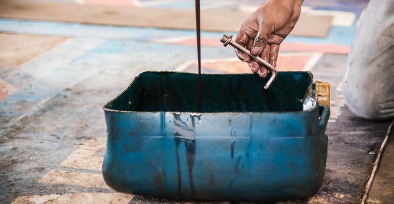 automotive oil used