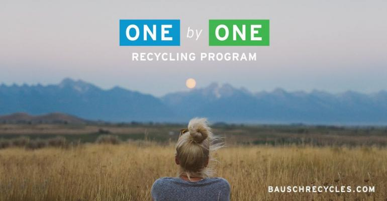 687bde8fb7fd1 Recycling Program Puts Focus on Contact Lens Waste. Bausch + Lomb s ...