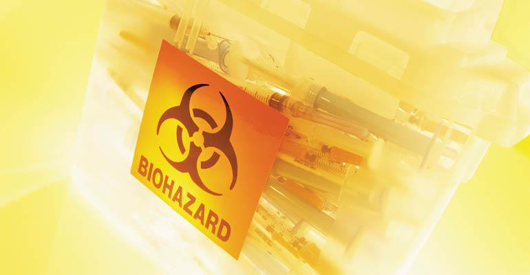 biohazard-container