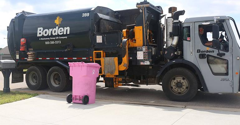 Waste Industry Participates in Breast Cancer Awareness Month