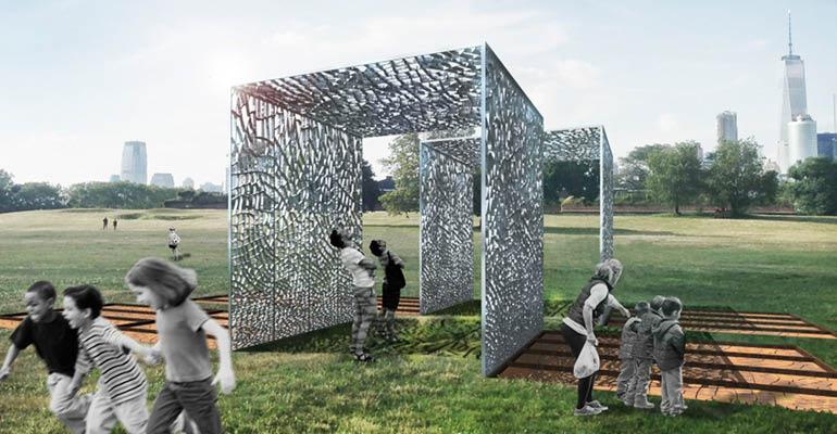 Pavilion Made From Recycled Cans To Be Displayed On