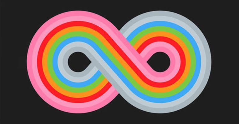 infinity rainbow