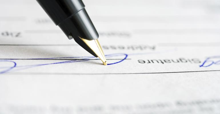 contract signature ts