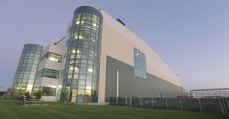 Greenpac Mill facility in Niagara Falls