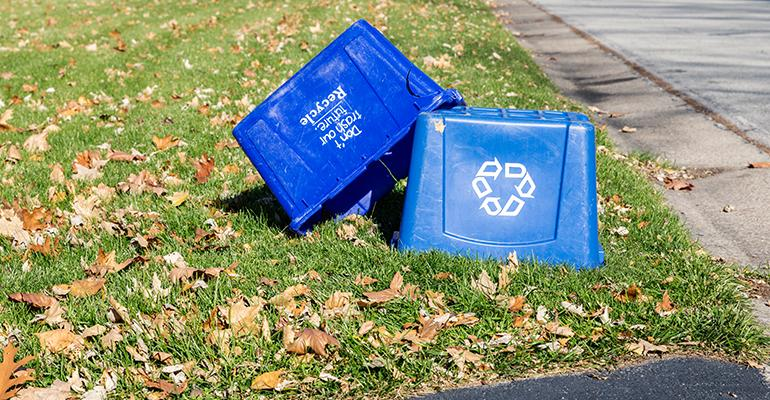 Oregon, Ohio, to Suspend Curbside Recycling for Now
