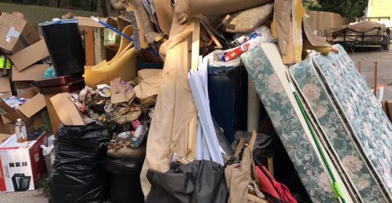 dorm waste