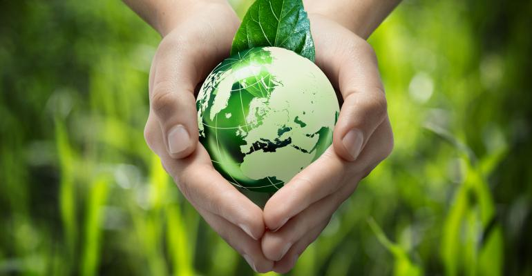 earth in hands protect environment