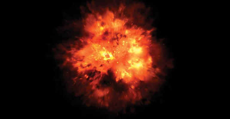 Michigan Recycling Center Experiences Small Explosion