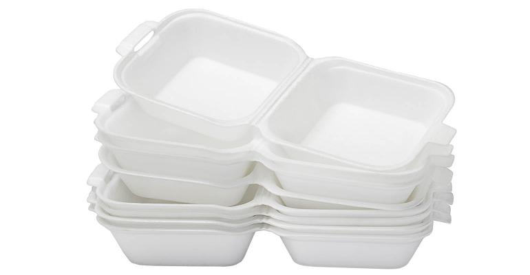 foam plastic food take out