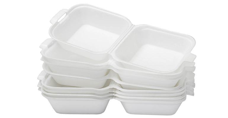 foam plastic food take out