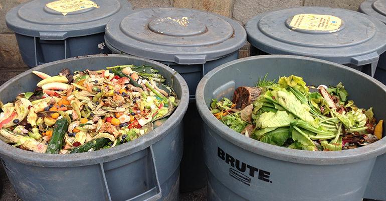 food scrap bins