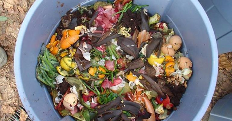 food waste can