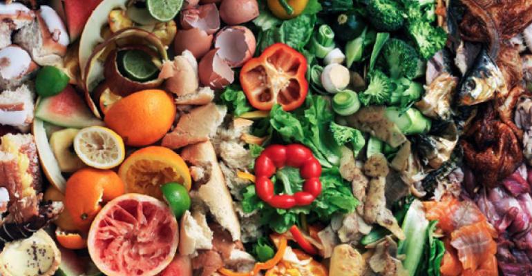 food waste colorful
